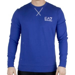 EA7 Sweatshirt Core ID Sweat in Blue