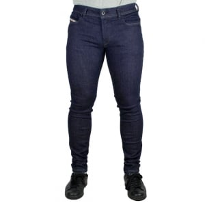 Diesel Sleenker Short Leg Jeans in Dark Wash