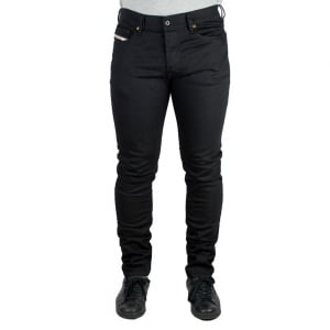 Diesel Tepphar Short Leg Jeans in Black