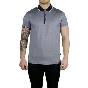 Boss Black Pitton 03 Polo Shirt in Navy
