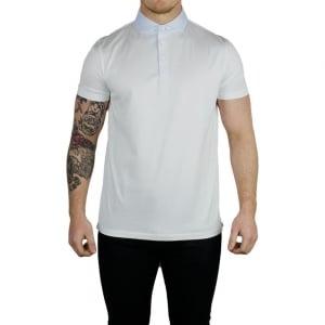 Boss Black Plummer 01 Polo Shirt in White