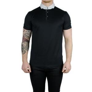 Boss Black Plummer 01 Polo Shirt in Black