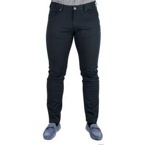 Armani Jeans J06 Slim Long Leg Jeans in Navy