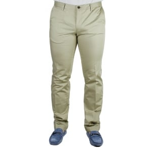Boss Black Stanino 13 Trousers in Beige