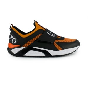 Ea7 Trainers 7.0 Orange in Black