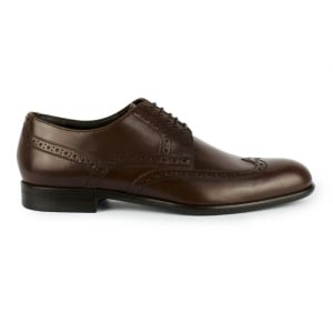 Boss Black Manperd Shoes in Medium Brown