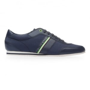 Boss Green Vantage Low Trainers in Dark Blue