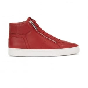 Hugo Futuzip Trainers in Red