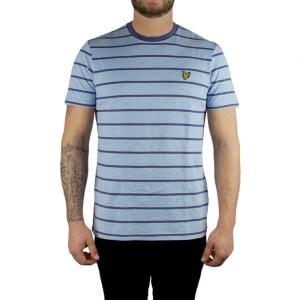Lyle & Scott Vintage Birdseye T-Shirt in Blue
