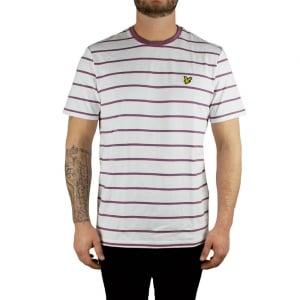 Lyle & Scott Vintage Birdseye T-Shirt in White