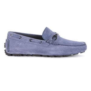 Boss Black Driprin Shoes in Blue