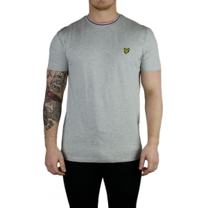 Lyle & Scott Vintage Trim Look T-Shirt in Grey