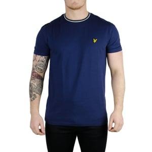 Lyle & Scott Vintage Trim Look T-Shirt in Navy