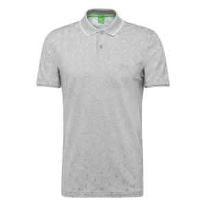 Boss Green Paule 3 Polo Shirt in Grey