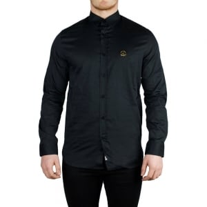 Love Moschino Gold Peace Shirt in Black