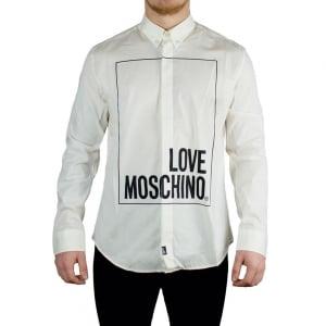 Love Moschino Box Love Shirt in White