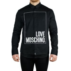 Love Moschino Box Love Shirt in Black