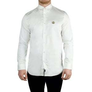 Love Moschino Gold Peace Shirt in White