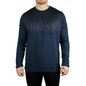 Boss Green Tohn 1 T-Shirt in Navy