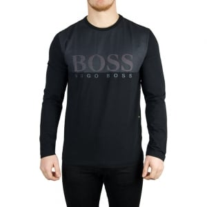 Boss Green Tohn 1 T-Shirt in Black