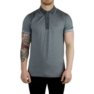 Boss Green Paule Polo Shirt in Grey