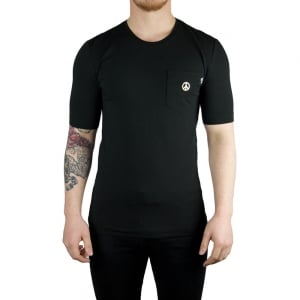 Love Moschino Peace T-Shirt in Black