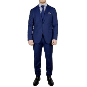 Boss Black Jewels Suit in Navy