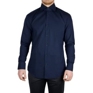 Hugo C-Eraldi Formal Shirts in Navy
