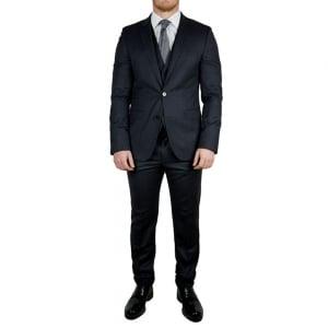Boss Black Awart/Wir Suit in Charcoal