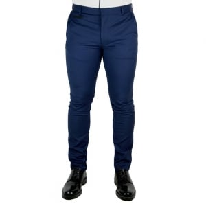 Hugo Heralt Trousers in Navy