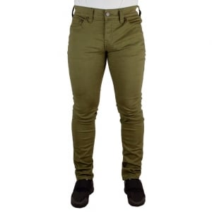 True Religion Rocco No Flap Jeans in Olive