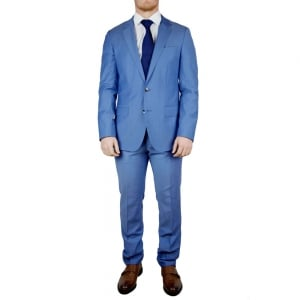 Boss Black Huge4/Genius3 Suit in Blue