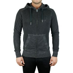 True Religion LA Hoody in Black
