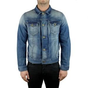 True Religion Dylan Denim Jacket in Mid Wash