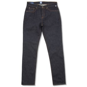 Pretty Green Erwood Regular Leg Jeans in Dark Wash