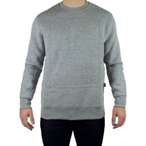 Love Moschino Love Box Sweatshirt in Grey