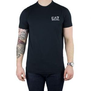 Ea7 Core T-Shirt in Black