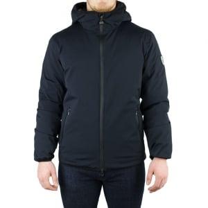 Ea7 Big Puff Jacket in Black