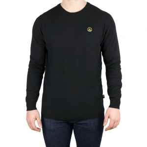 Love Moschino Gold Peace Knitwear in Black