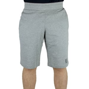 Ea7 Jersey Shorts in Grey