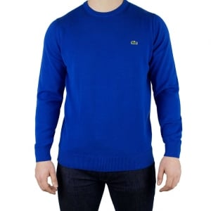 Lacoste Logo Knitwear in Blue