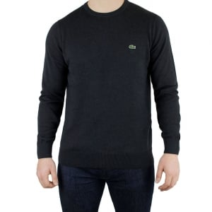 Lacoste Logo Knitwear in Charcoal