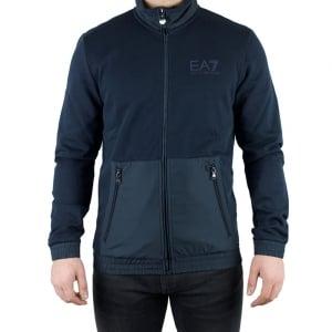 Ea7 Big Pocket Sweatshirt in Navy