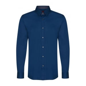 Hugo Elishan Formal Shirt in Blue