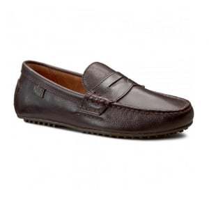 Ralph Lauren Polo Wes-E Shoes in Brown