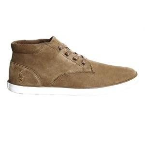 Ralph Lauren Polo Odie Trainers in Tan