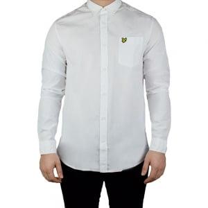 Lyle & Scott Vintage Garment Shirt in White