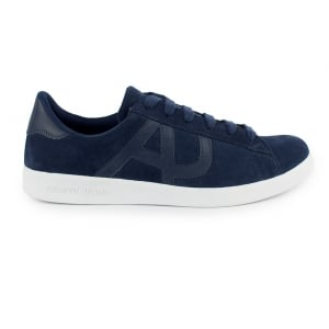 Armani Jeans AJ Suede Trainers in Blue