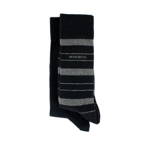 Boss Black Two Pack RS socks in Black