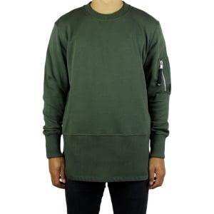 Diesel Storney Sweatshirt in Green